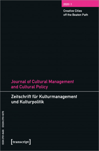 Journal of Cultural Management and Cultural Policy/Zeitschrift für Kulturmanagement und Kulturpolitik