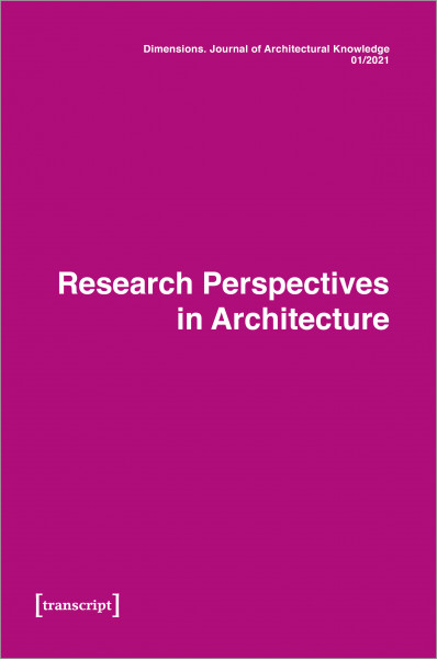Dimensions. Journal of Architectural Knowledge