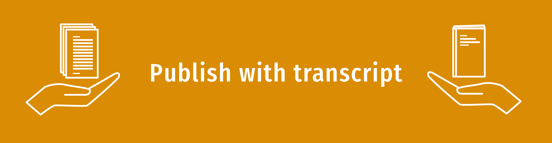 Publish with transcript